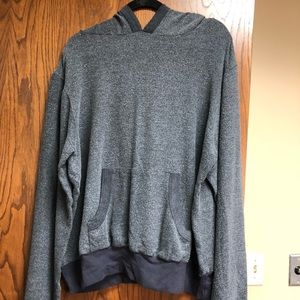 WILDFOX Gray Oversized Hoodie L Sweatshirt XL